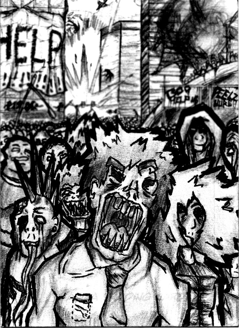 Manga Card Collection - #2 ZOMBIEHZ by ArtisticallyBadAss