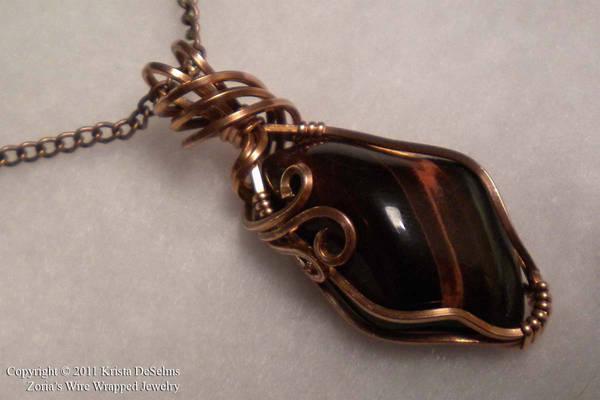 Copper and Ebony 105 by Zorias