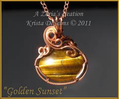 Golden Sunset 166 by Zorias