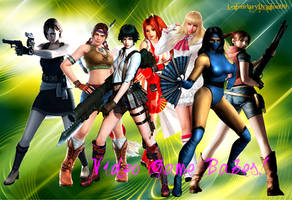 Video Game Babes by LegendaryDragon90