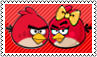 Red Angry Birds Lovers by LegendaryDragon90
