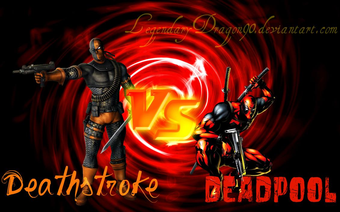 Deathstroke Vs Deadpool By LegendaryDragon90