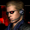 Red Eyes Albert Wesker S.T.A.R.S. Icon by LegendaryDragon90