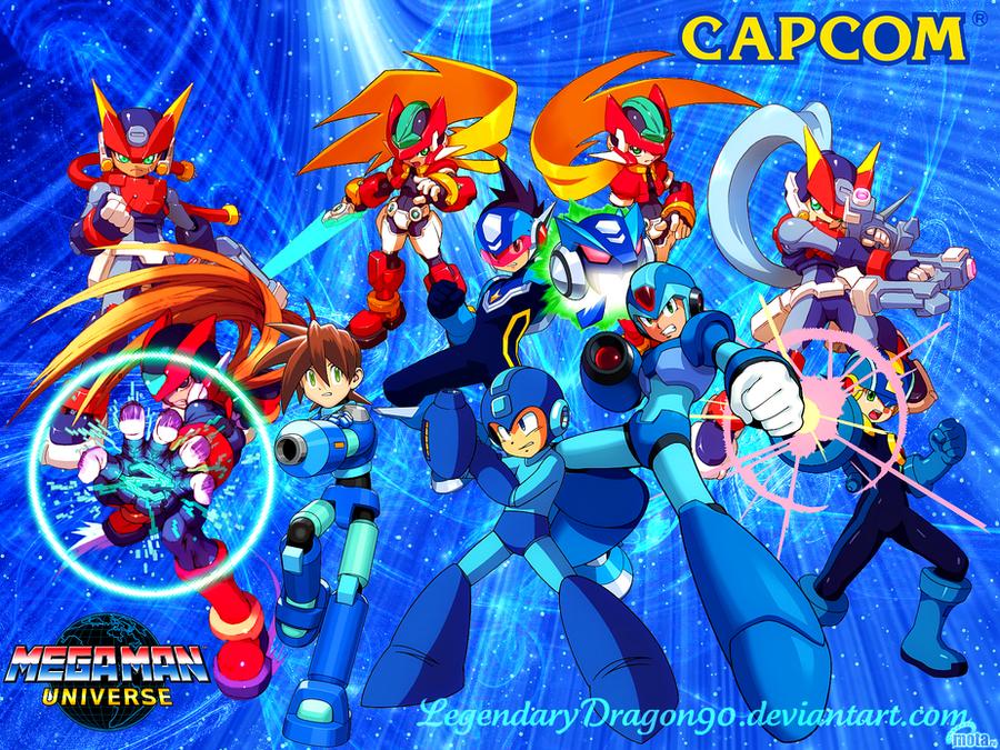 Mega Man Universe by LegendaryDragon90