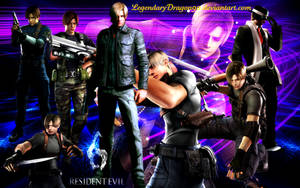 Leon S. Kennedy Wallpaper by LegendaryDragon90