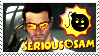 Serious Sam Stamp by LegendaryDragon90