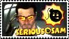 Serious Sam Stamp by LegendaryDragon90