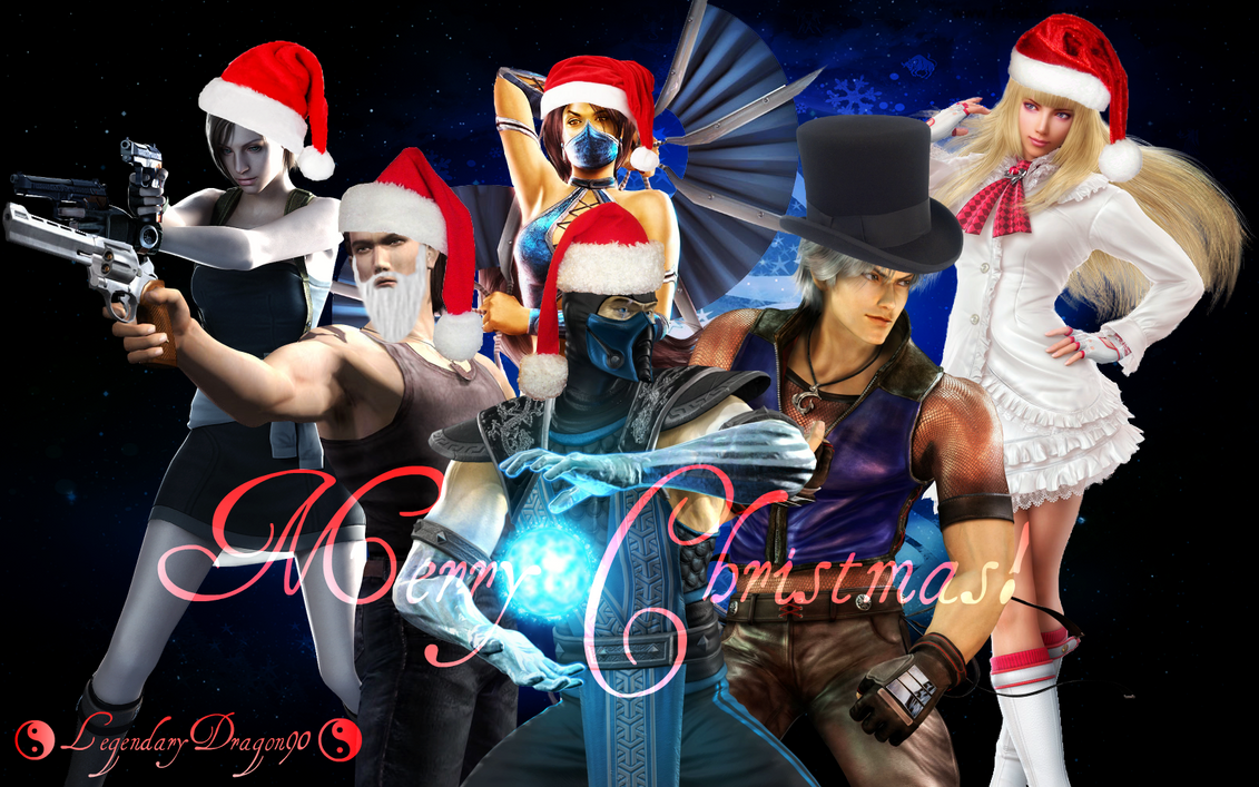 X-Mas 2012 deviantID by LegendaryDragon90