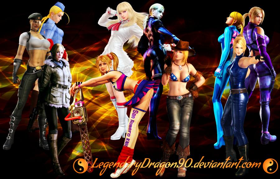 Video Game Blondies by LegendaryDragon90