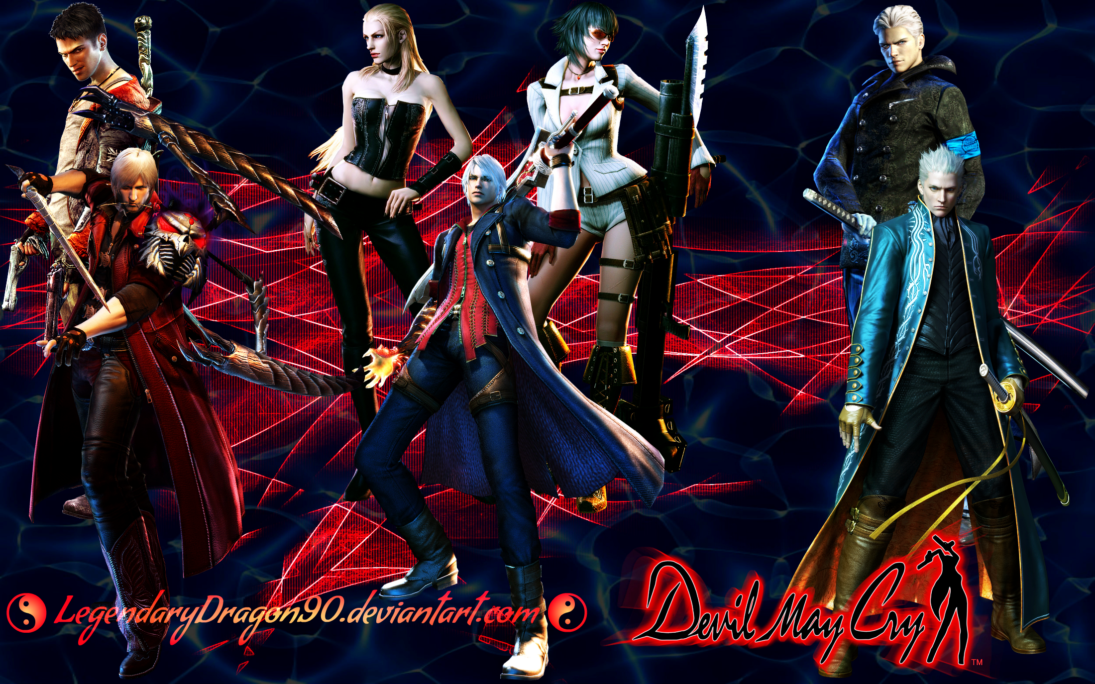 Devil May Cry by LegendaryDragon90