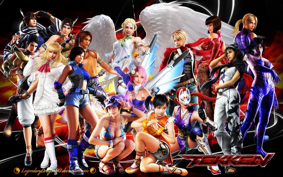 Tekken Ladies by LegendaryDragon90