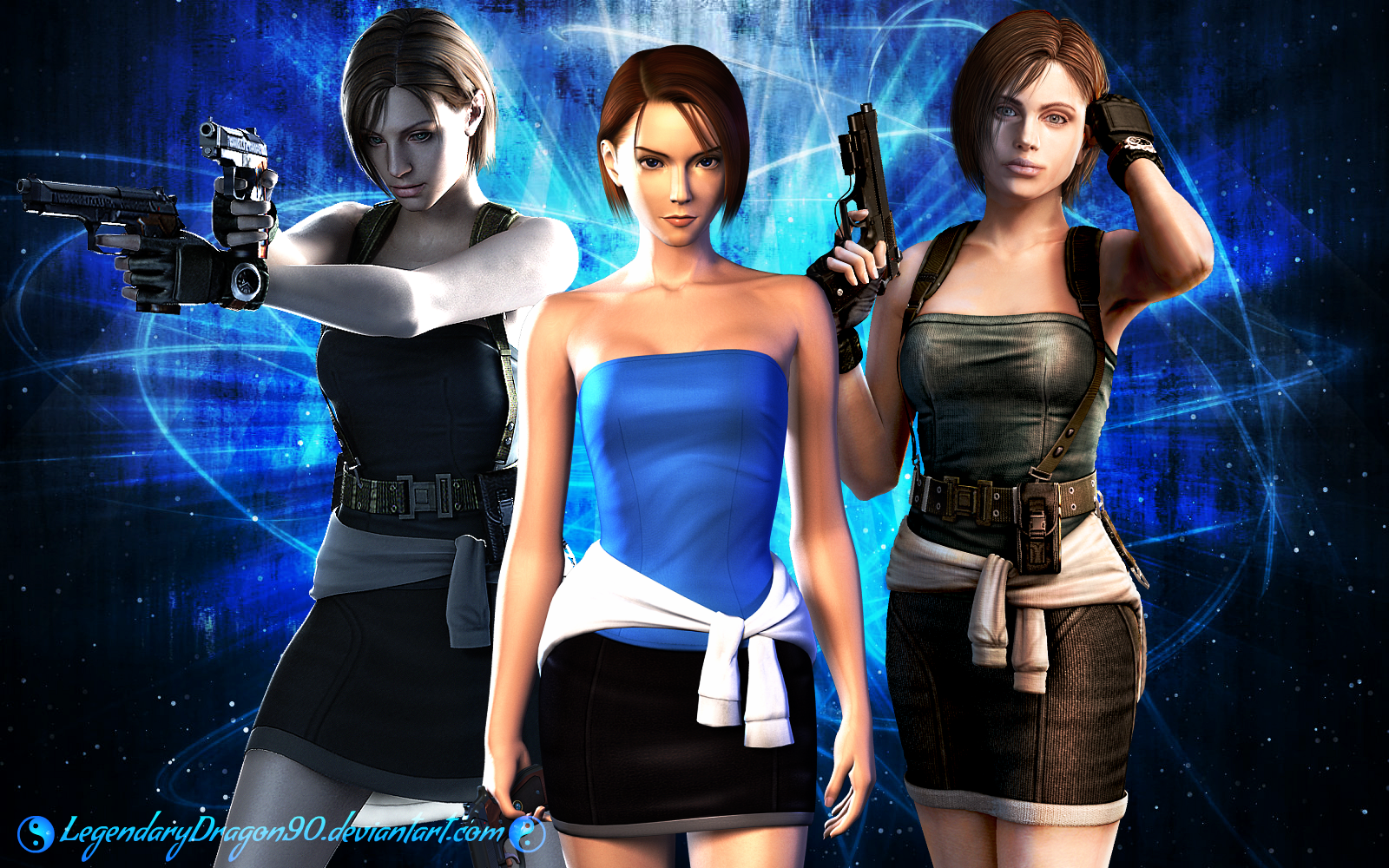 Jill Valentine RE3 Evolution by LegendaryDragon90