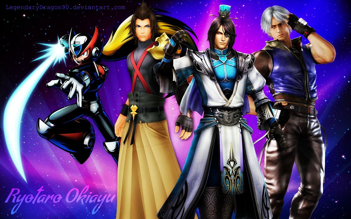 Ryotaro Okiayu's Characters by LegendaryDragon90 on DeviantArt