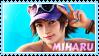 Miharu Hirano Stamp 01 by LegendaryDragon90