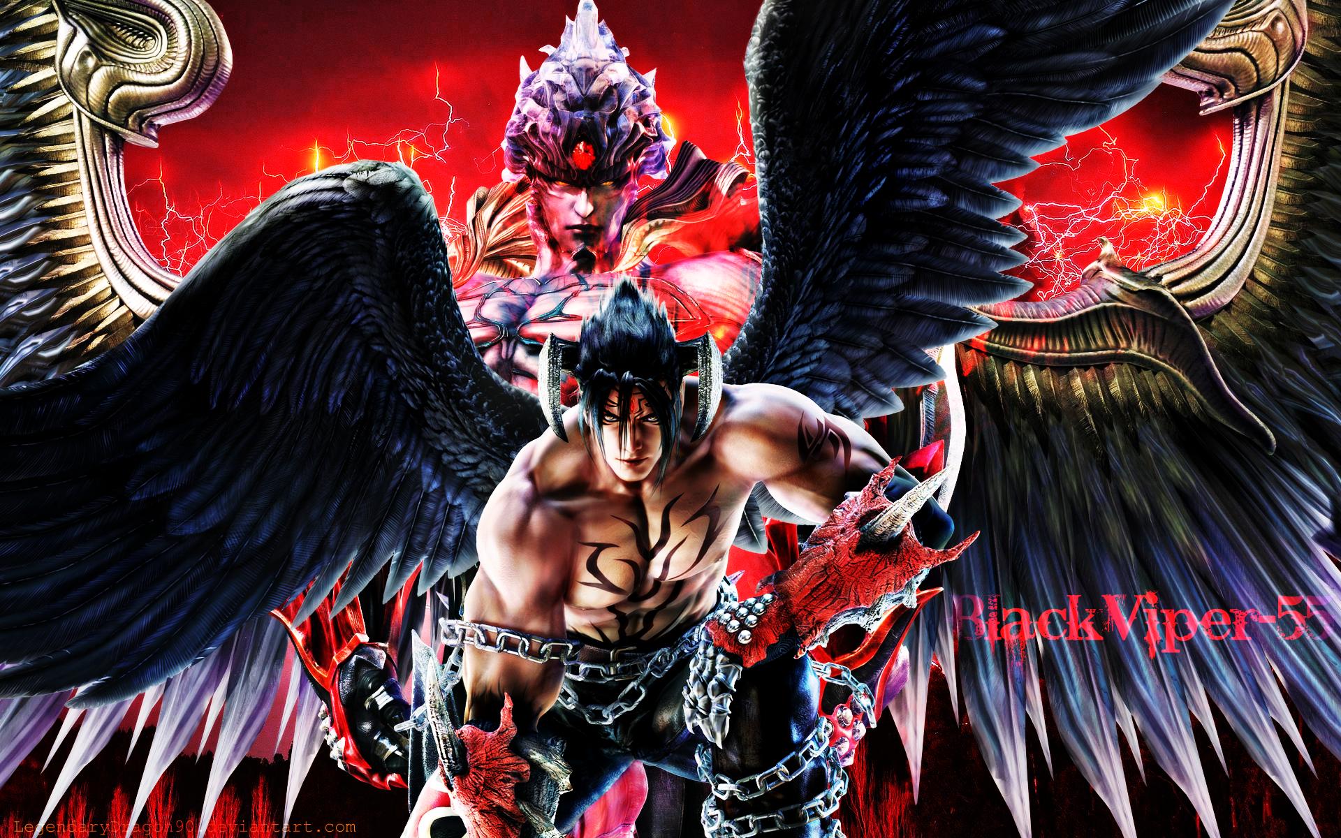 Tekken 6 Wallpaper Devil Jin 1 By Nin Er On DeviantArt
