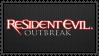 Resident Evil Outbreak Stamp