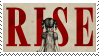 Skillet - Rise Stamp by LegendaryDragon90