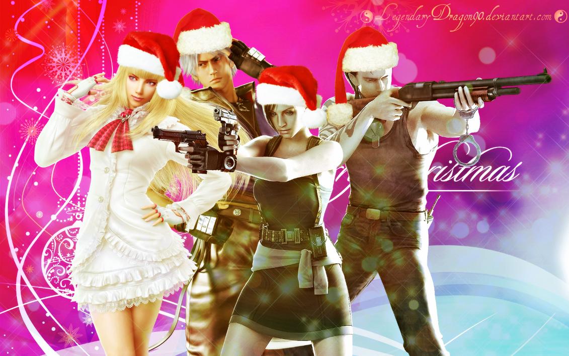 Christmas deviantID 2013 by LegendaryDragon90