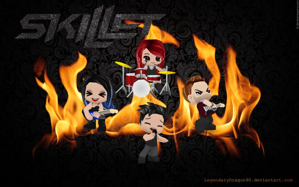 Skillet BuddyPoke By LegendaryDragon90