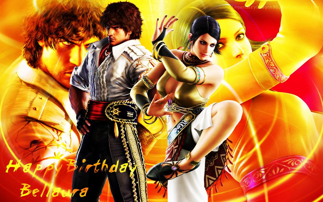 Happy Birthday Bellaura by LegendaryDragon90