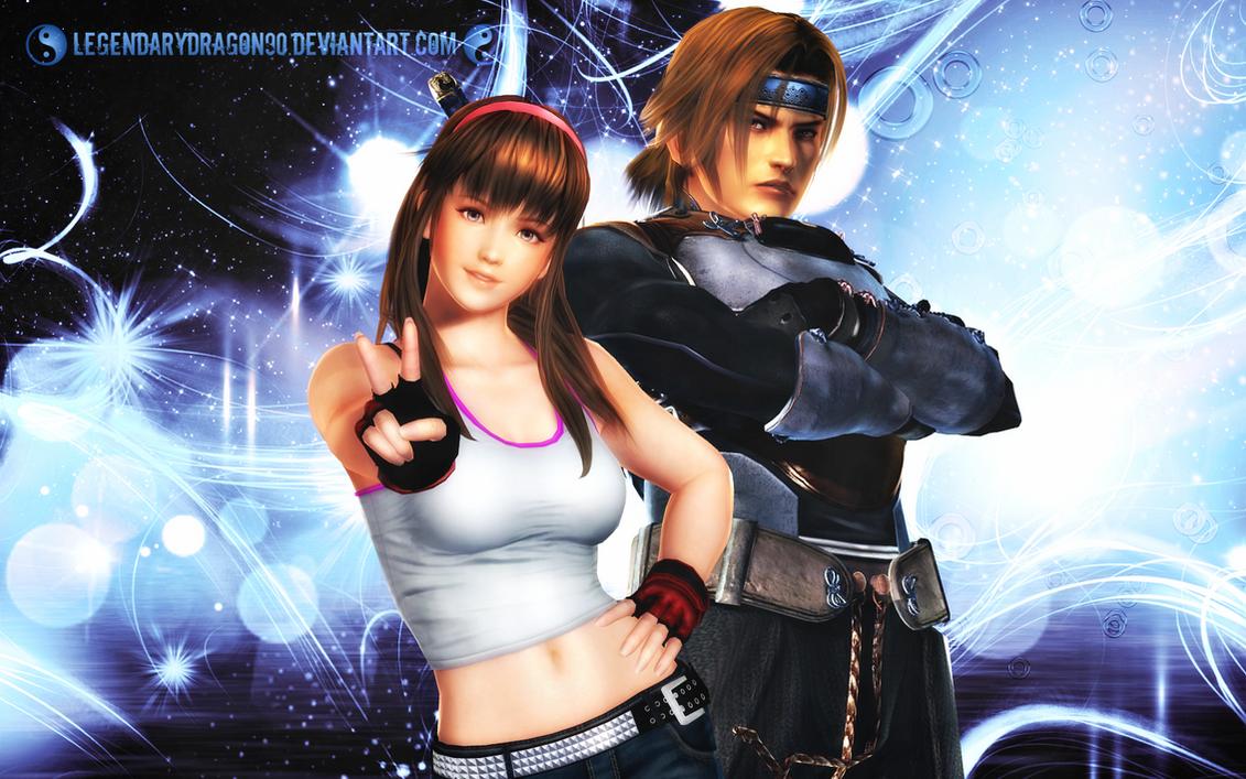 Hayate X Hitomi by LegendaryDragon90