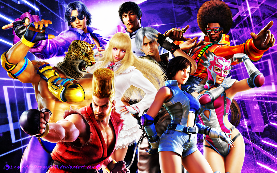 Tekken Team (Updated) by LegendaryDragon90