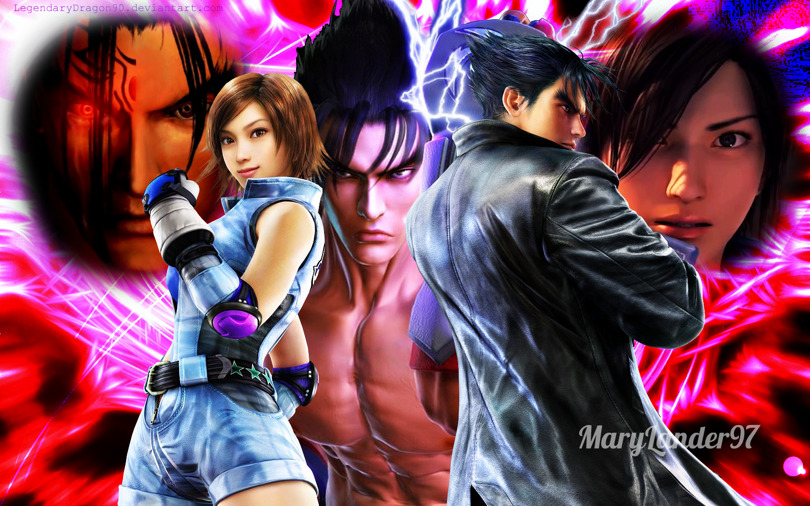 tekken jin and asuka relationship problems
