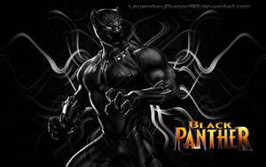 Black Panther by LegendaryDragon90