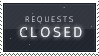 STAMP: CLOSED for Requests by saberstock