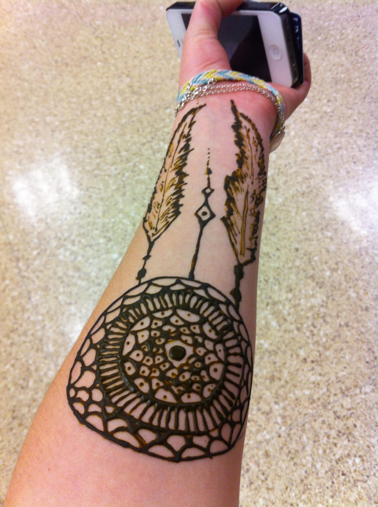 Henna Dreamcatcher By CrimsonClaw2112 On DeviantArt