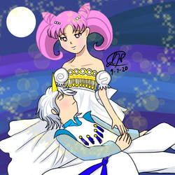 Sailor Moon: Chibiusa and Helios by Anim8Cre8