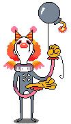 Clown Monster sprite by allisonbamcat
