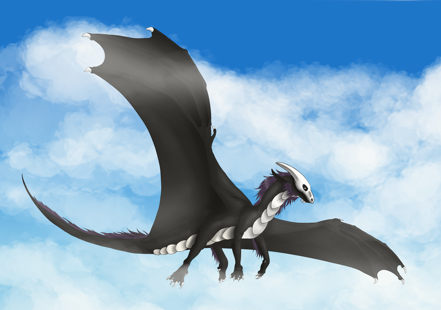 Through the Clouds by Lycandra