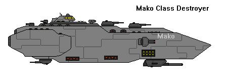 FTI. Mako Class Destroyer by Robbie18