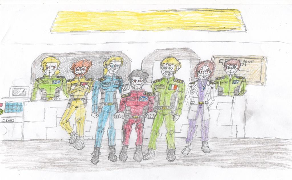 ESS Endeavour crew
