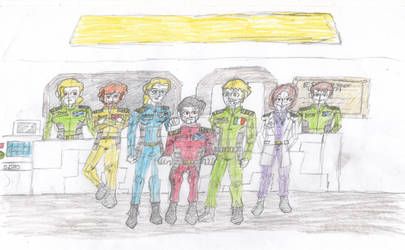 ESS Endeavour crew by Robbie18