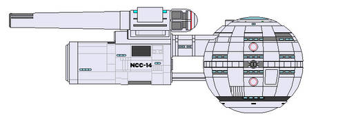 USS Dumfries NCC-14 pacific 201 Ver by Robbie18