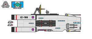 Earth Union Baron Class Corvette