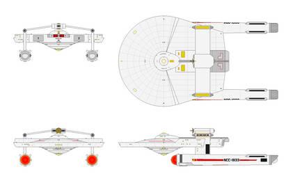 My USS Miranda NCC-1833 v4