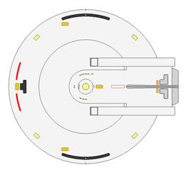Shepard Class Saucer wip