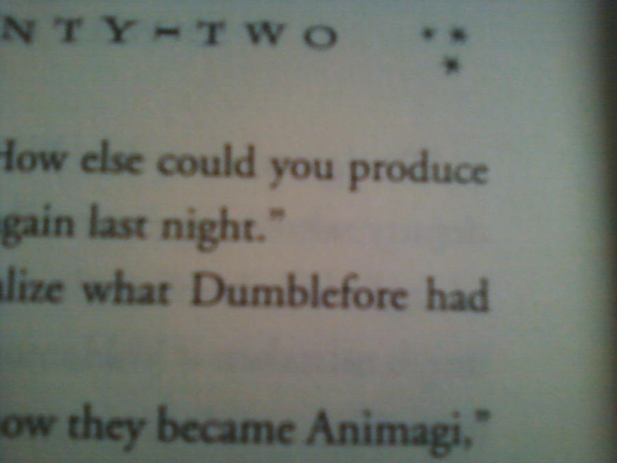 Harry Potter Book With Typo : Harry potter book typo by lupalover on deviantart