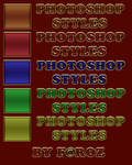 Marvelous Color Text Photoshop Styles / ASL
