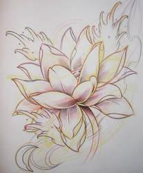 lotus flash 01 by Brandotattoo