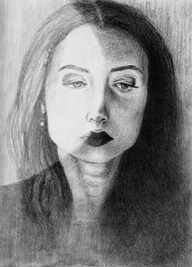 Portrait of R. by apiarona