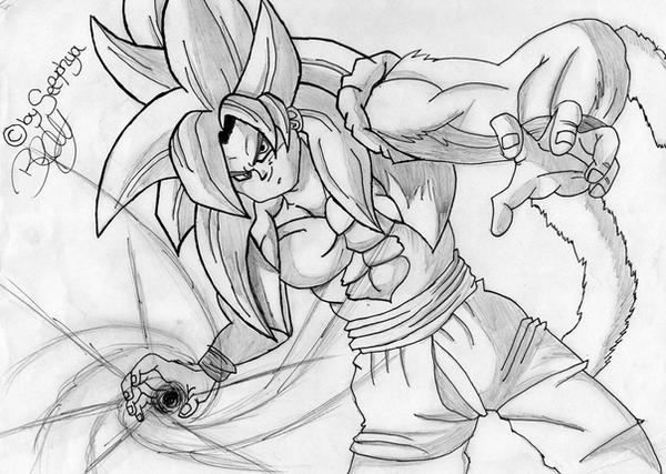 Goku Ssj 4 Kamehameha by TaintedSelphyaGoku Super Saiyan 4 Kamehameha X10