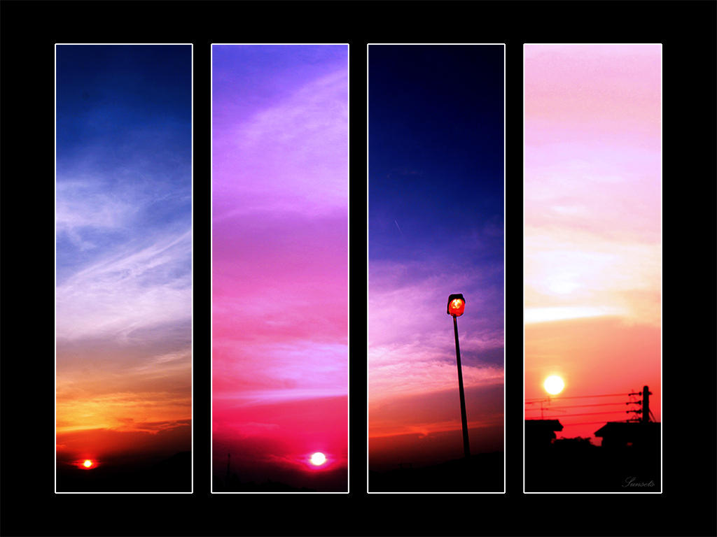 Sunsets by kaz1021