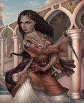 Lady of Sun Spear by ProKriK