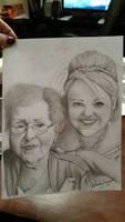 daughter n grandmother