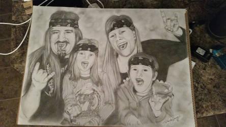 rock star family
