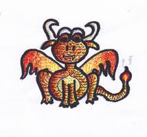 Elemental Baby Dragon - Fire